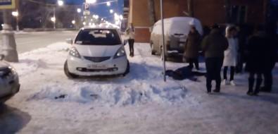 """В районе """"Любителя"""" таксист наUber сбил женщину"""
