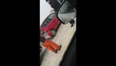 Три автомобиля столкнулись наХолмском шоссе вЮжно-Сахалинске