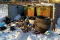 В холмском селе Чапланово мусор вывозится невезде