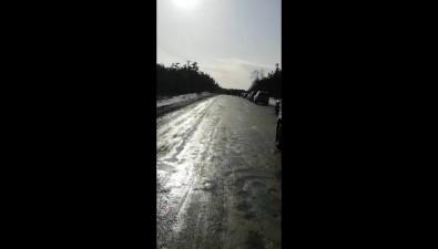 Сахалинские рыболовы немогут уехать домой из-за перекрытой дороги