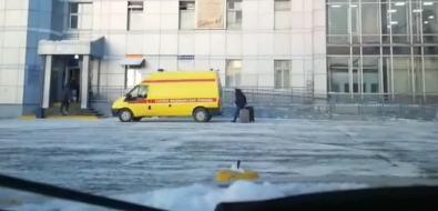 """""""Бдительные"""" сахалинцы приняли автомобиль реанимации заVIP-такси"""
