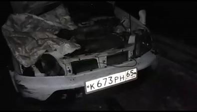 В вечернем ДТПна Сахалине погибли рыбаки