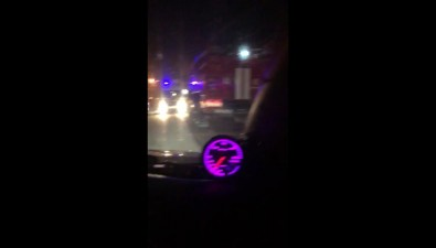 """Две """"Тойоты"""" столкнулись ночью наЖелезнодорожной вЮжно-Сахалинске"""