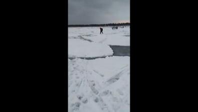 Триста сахалинцев пошли рыбачить, видя, чтоприпай сломан