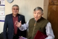 В Аниве председателя совета ветеранов поздравили с70-летием