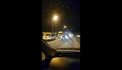 В столкновении автомобиля сзабором вКорсакове есть пострадавшие