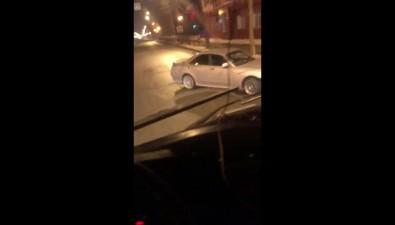 Ночью вЮжно-Сахалинске столкнулись Nissan Gloria иToyota Corolla