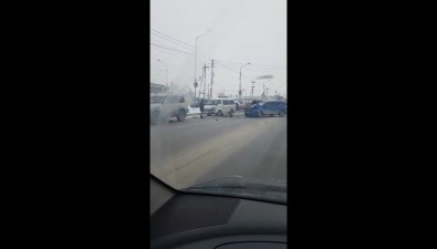 Два ДТПзатрудняют движение вЮжно-Сахалинске