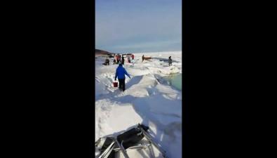 На льдине вМакаровском районе скончался рыболов-любитель
