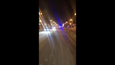 В Южно-Сахалинске ночью лобв лобстолкнулись дваавто
