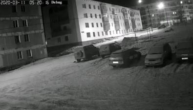 В Шахтерске автоворы попались вобъектив камеры наблюдения