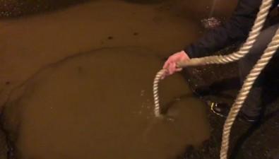 Южносахалинец порвал резину ипомял диск вметровой ямена улице Ленина