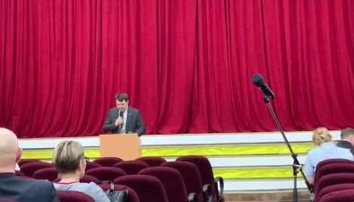 Мэр Тымовского района побил временной рекорд проведения встречи снаселением