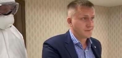Участника инвестсовета пригубернаторе вывели положному подозрению внесоблюдении карантина