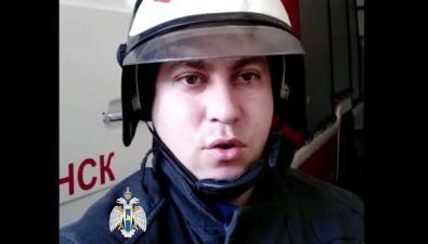 Пожарные записали стихотворное обращение ксахалинцам