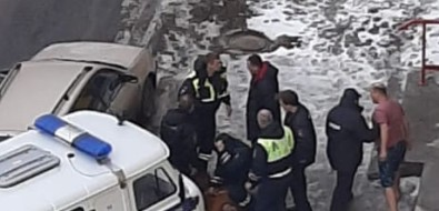 В Шахтерске устроили полицейскую погоню