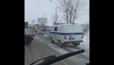 На Холмском шоссе вЮжно-Сахалинске произошло ДТП