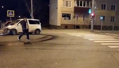 """В районе """"Луча"""" вЮжно-Сахалинске произошло серьезное ДТП"""