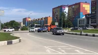 Лобовое столкновение парализовало движение повиадуку наПуркаева