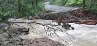 Сахалинцы сообщают оразмытых дорогах наюге острова