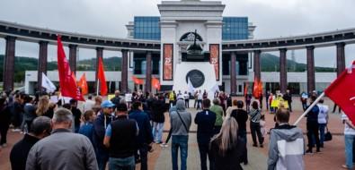 Депутата областной думы освистали заподдержку Лукашенко намитинге вЮжно-Сахалинске
