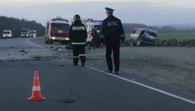 Между Ново-Александровском иБерезняками произошла серьезная авария