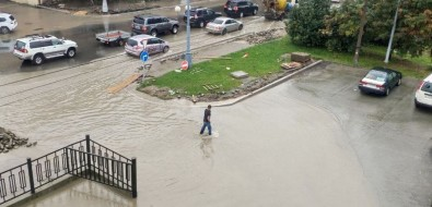 Южно-Сахалинск затопило