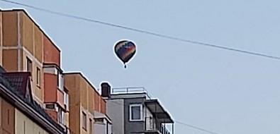 Воздушный шарудивил южносахалинцев утренним появлением внебе надгородом