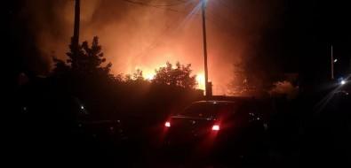 В Березняках вовремя пожара пострадал человек