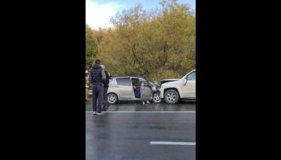В ДТПна корсаковской трассе есть пострадавшие
