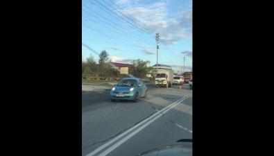 Авария спровоцировала пробку наХолмском шоссе