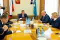 Губернатор Лимаренко обсудил ссенатором Карасиным федеральное финансирование