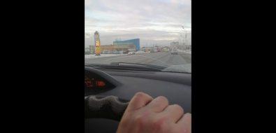 На улице Железнодорожной вЮжно-Сахалинске произошло серьезное ДТП