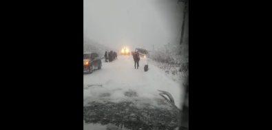 В Холмском районе автобус ушел вкювет