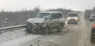 Скользкая трасса Южно-Сахалинск— Холмск собрала несколько ДТП
