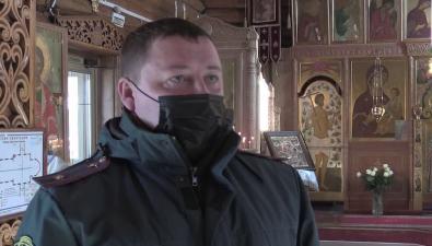 Южно-сахалинский храм впреддверии Рождества проверили напожарную безопасность