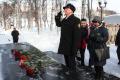 ВКорсакове празднование 23 февраля началось свозложения цветов