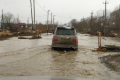 ВЮжно-Сахалинске образовался водоем наПамятной