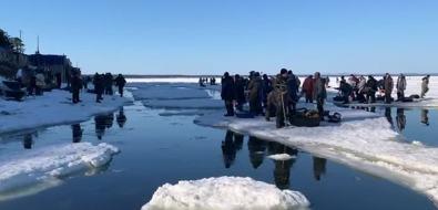 Сахалинские рыболовы снова отправились покорять Охотское море нальдинах
