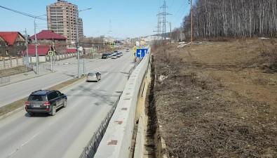 Подпорная стенка наГорького вЮжно-Сахалинске дала трещину