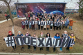 Южносахалинцы сфотографировались впарке вчесть Дня космонавтики