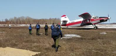 Сахалинские парашютисты-пожарные приступили ктренировкам
