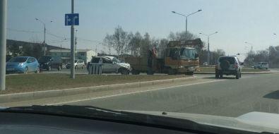 Водители вЮжно-Сахалинске не поделили кольцо