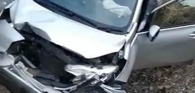 Два автомобиля столкнулись натрассе вСмирныховском районе
