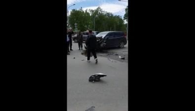 """Серьезное ДТП произошло возле """"Луча"""" вЮжно-Сахалинске"""