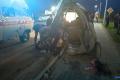 Микроавтобус разорвало вжуткой аварии вНогликах