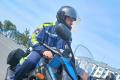 Мотопатруль следит запорядком надорогах Южно-Сахалинска