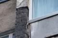 ВДолинске куски фасада многоэтажки норовят упасть налюдей