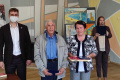 """ВАнивском районе вручили первые почетные знаки """"Семья, любовь, верность"""""""