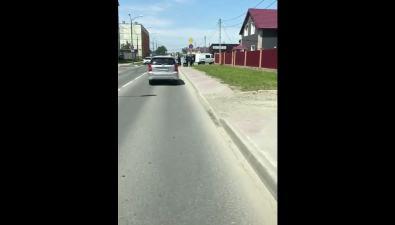 Очевидцы сообщают осбитой наперекрестке вЮжно-Сахалинске женщине